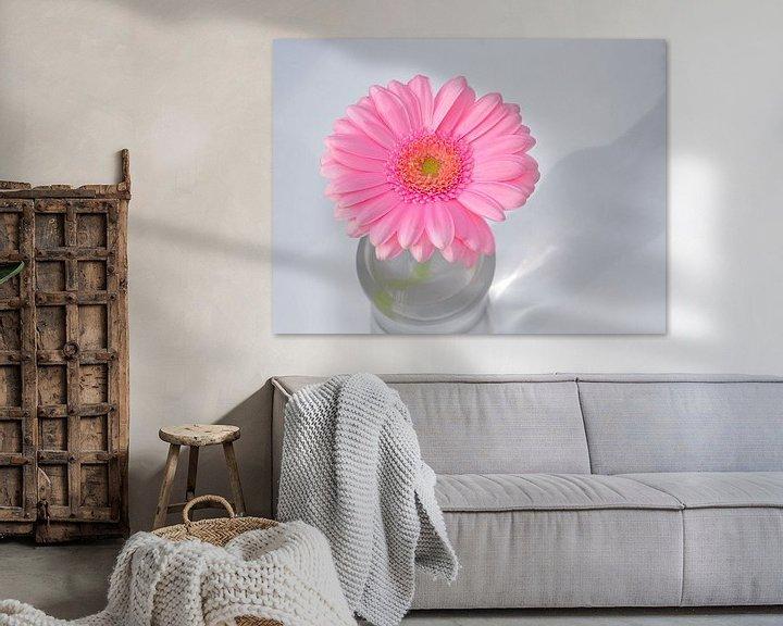 Sfeerimpressie: Gerbera roze van Ronald Smits