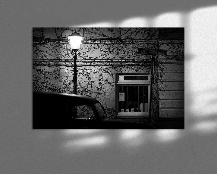 Sfeerimpressie: Nacht in de Archipelbuurt van Den Haag van Raoul Suermondt