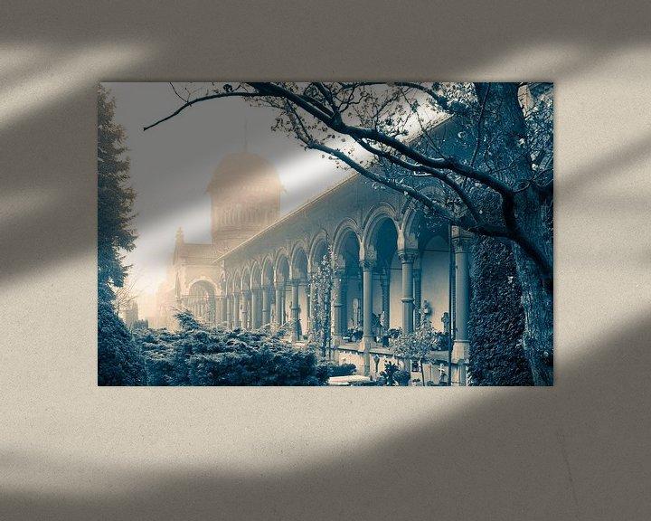 Sfeerimpressie: Begraafplaats Sint Petrus Banden Den Haag van Raoul Suermondt