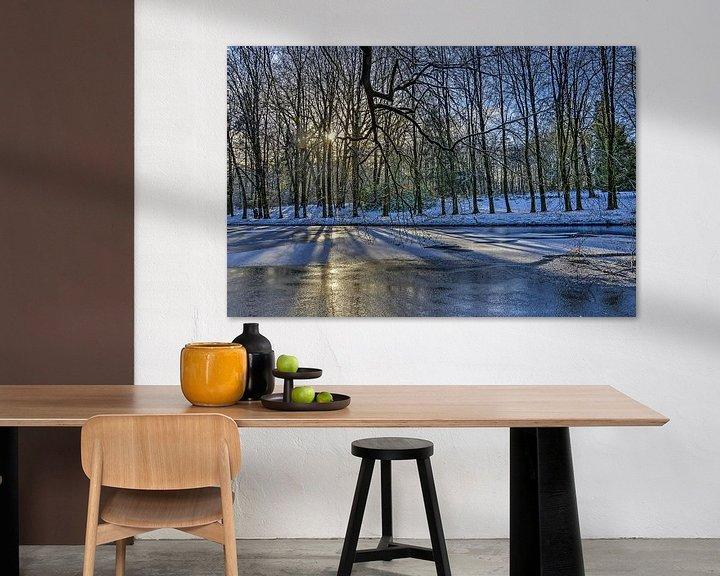Sfeerimpressie: Winter in Park Sonsbeek van Frans Blok