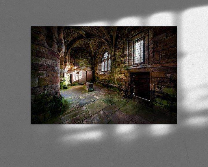 Sfeerimpressie: Jedburgh Abbey in Schotland van Steven Dijkshoorn