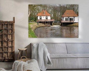 Watermolen Den Helder in Winterswijk van Tonko Oosterink