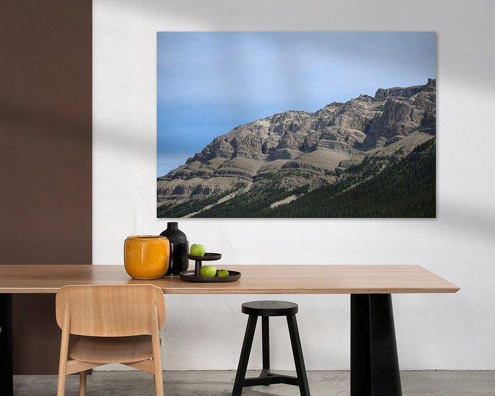 Beispiel: Mountains in Canada von Jop Fotografie