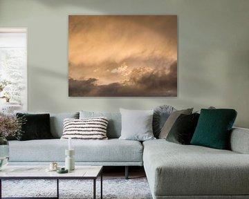 Zonsondergang met pasteltinten van Ronald Smits
