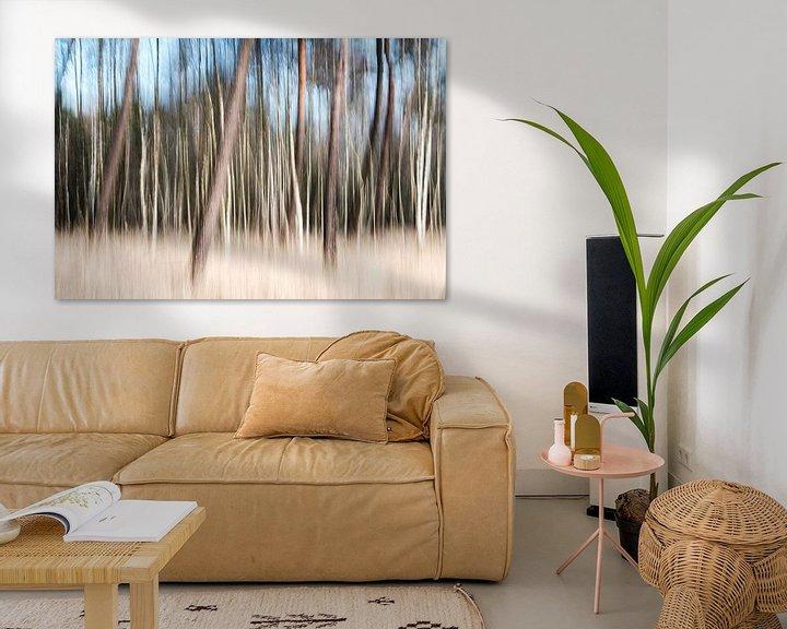 Sfeerimpressie: Het bos van Edwin van Wijk