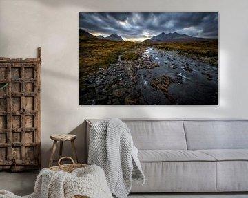 Het Schotse landschap von Steven Dijkshoorn