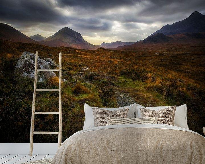 Sfeerimpressie behang: De droom heet Schotland van Steven Dijkshoorn