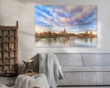 Dresden bij dageraad van Daniela Beyer