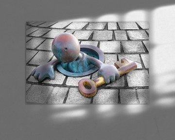 Sprookjesbeeld in Scheveningen van Evert Jan Luchies