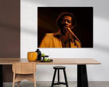Chuck Berry Gold von Paul Meijering