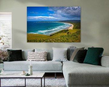 South Bay Shore, Nouvelle-Zélande sur Rietje Bulthuis