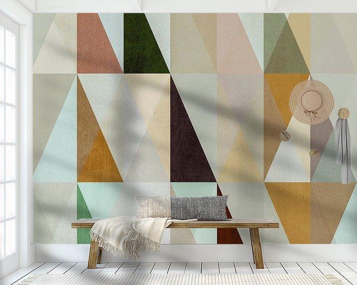 Sfeerimpressie behang: De Noordse WEG XVI van Pascal Deckarm