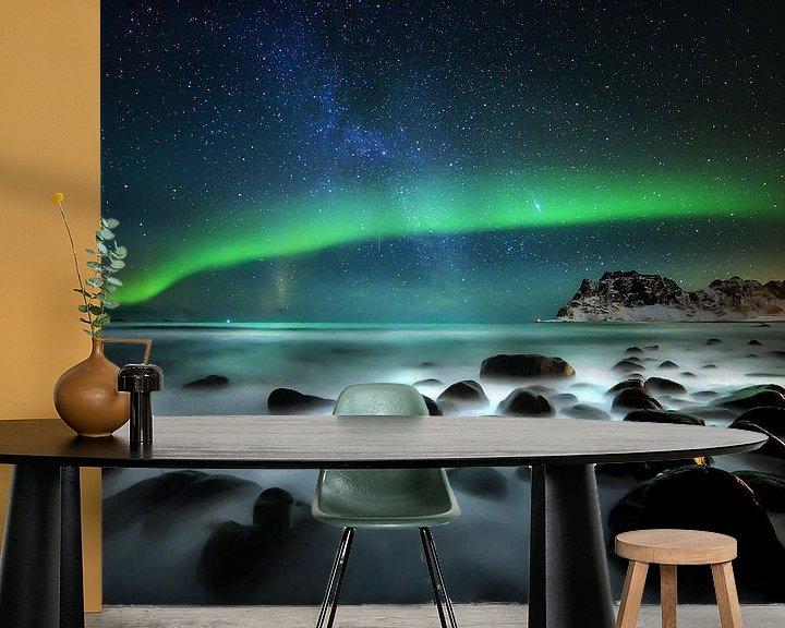 Sfeerimpressie behang: Aurora van wim denijs