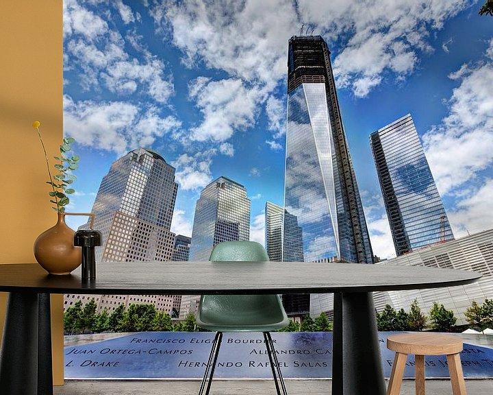 Sfeerimpressie behang: WTC Memorial, New York van Nanouk el Gamal - Wijchers (Photonook)