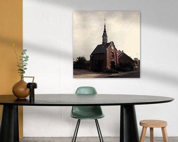kapel in de nabije omgeving van Essen van Luke Bulters