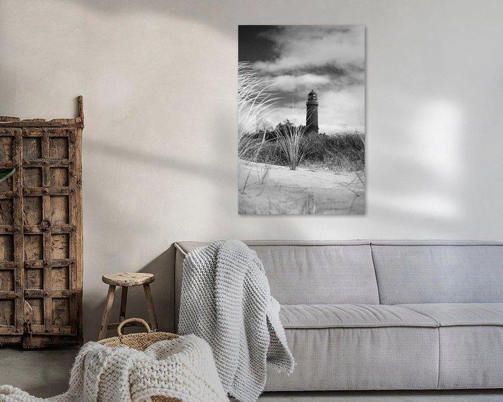 Beispiel: Leuchtturm Darßer Ort von Jörg Hausmann