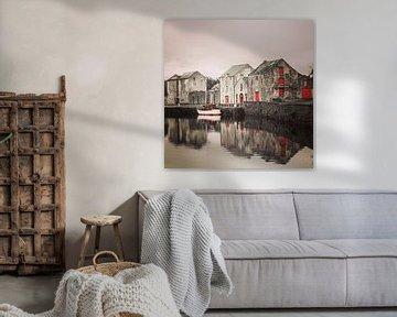 The old warehouse, Ramelton, Ireland. von Marga Verweijen