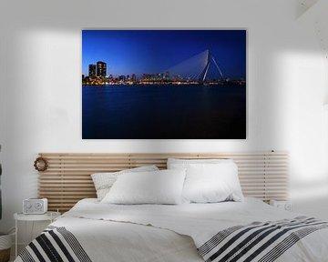 Rotterdam by Blue Hour van Marcel Moonen @ MMC Artworks