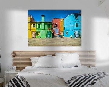 Venetië, Burano, La bella Italia van Patrick Verhoef