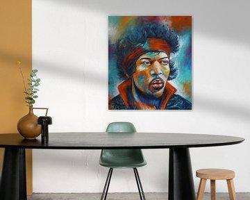 Jimi Hendrix von Ans van Breda