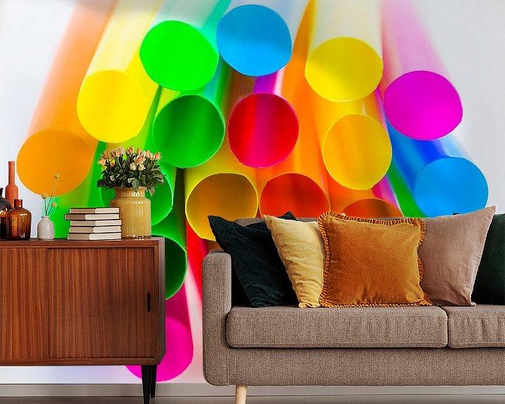 Beispiel fototapete: kleuren - colors von Erik Bertels