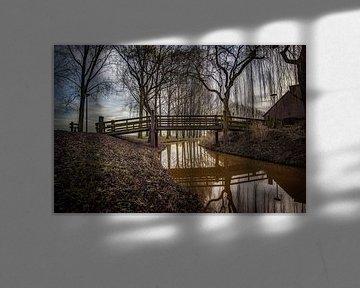 Bridge over troubled water van Ronald Westerbeek
