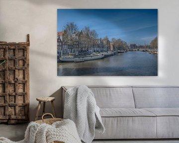Oude Waal Amsterdam van Foto Amsterdam / Peter Bartelings