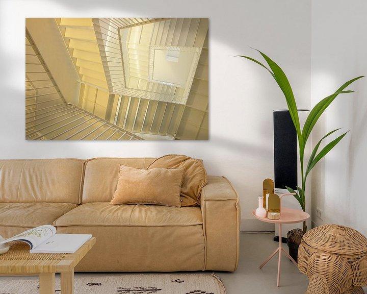 Sfeerimpressie: Escherian staircase van Mike Bing