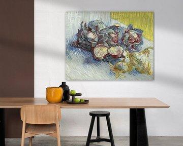 Vincent van Gogh. Rotkohl und Zwiebeln