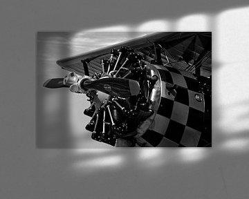 Airplane Old Engine von René Koert