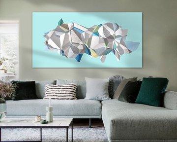 Polygon N.3 van Olis-Art
