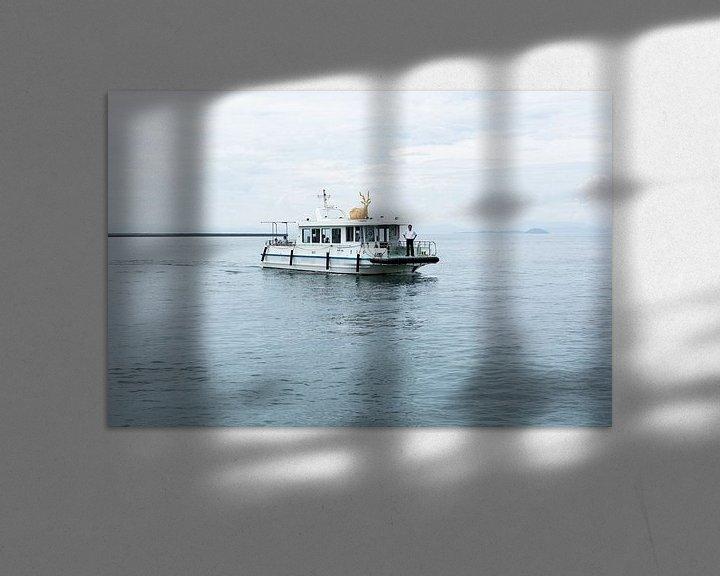 Sfeerimpressie: De Hertenboot van Marijn Kuijper