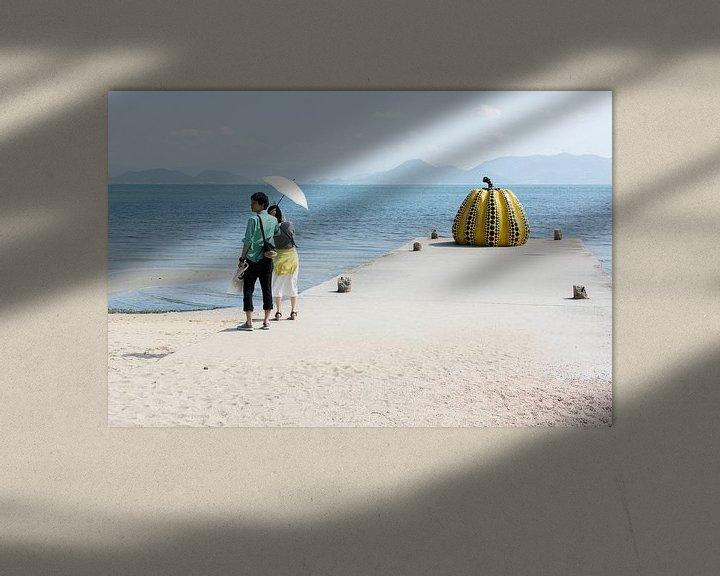 Sfeerimpressie: Pompoen aan zee van Marijn Kuijper