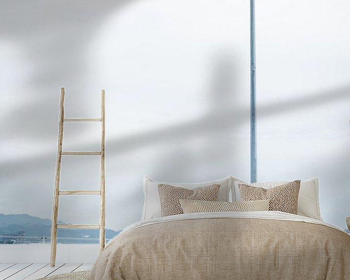 Sfeerimpressie behang: Meeuwen op wacht van Marijn Kuijper