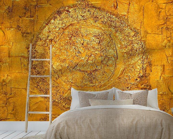 Sfeerimpressie behang:  Abstract 5 van Julia Apostolova