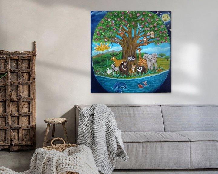 Sfeerimpressie: De boom van het leven. van Gloria Gill