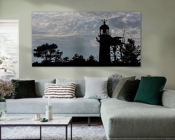Phare de l'île de Vlieland sur Roel Ovinge