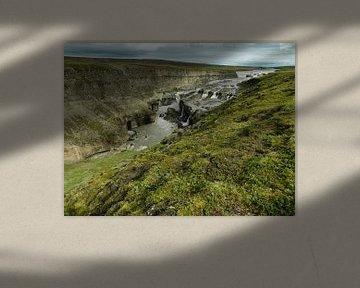Dynka watervallen van Frans Rutten