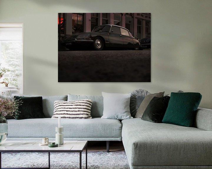 Sfeerimpressie: Groene Citroën DS van Jan-Loek Siskens