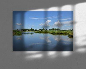 Holländische Landschaft von Corinna Vollertsen