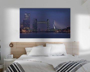 De Hef à Rotterdam avec son nouvel éclairage sur MS Fotografie | Marc van der Stelt