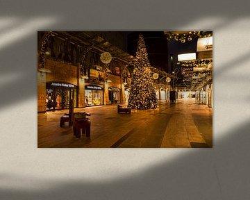 Kerst in de Koopgoot Rotterdam van Charlene van Koesveld