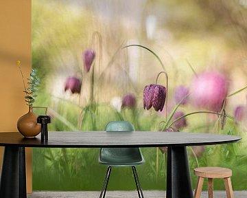 Een bloemenweitje van Birgitte Bergman