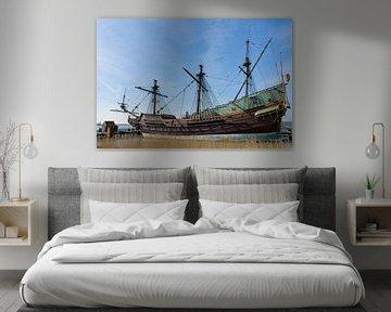 VOC Schip Batavia in Lelystad van Charlene van Koesveld