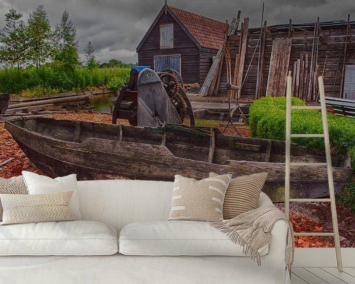 Sfeerimpressie behang: Historische Tuin 9 van Tamara & Mariëlle van #Scherpzinniger