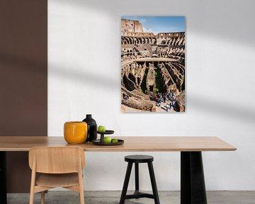 Het Colosseum in Rome van Fotografiecor .nl