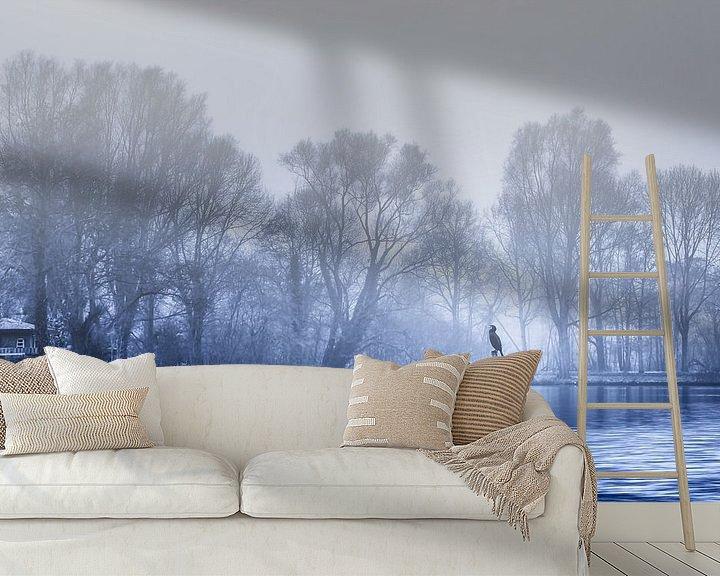 Sfeerimpressie behang: Wachten op het voorjaar  van Jan van der Knaap