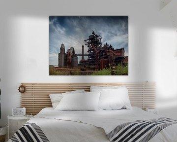 Steelworks (color) van Lex Schulte