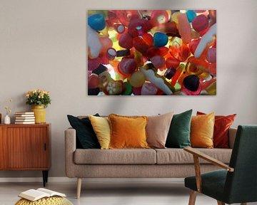 Kleurrijk snoep von P.D. de Jong