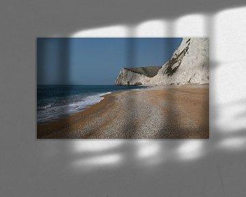 Cliff South England von Barend Koper